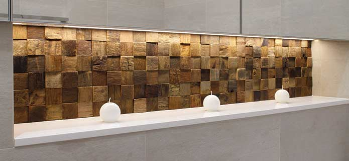 Rustico 302 reclaimed Wooden Tiles by Renaza - Brindabella Bathrooms