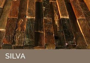 SILVA Tiles by Renaza - RUSTICO Tiles by Renaza - Versatile reclaimed hardwood timber wall tiles