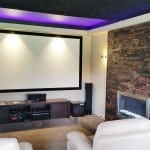 Media Room Renaza Feature Wall