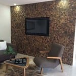 RUS 306 TV Wall Acoustic - Renaza Reclaimed Timber Tiles